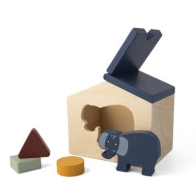 Trixie trixie houten huis Mrs Elephant