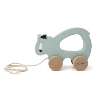 Trixie trixie houten trekspeeltje Mr polar Bear