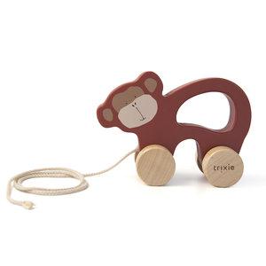 Trixie trixie houten trekspeeltje Mr. Monkey