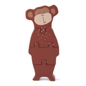 Trixie trixie houten dierenvormpuzzel Mr. Monkey