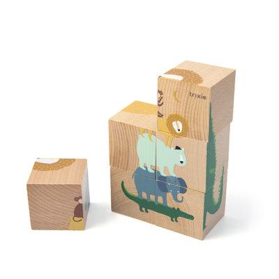 Trixie trixie houten puzzelblokken