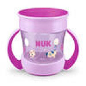 NUK NUK Mini Magic Cup paars oefenbeker