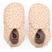 bobux Bobux - Soft Soles - Leopard Print Vanilla - S