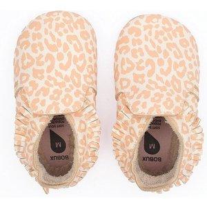 bobux Bobux - Soft Soles - Leopard Print Vanilla - L