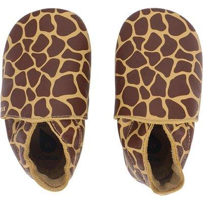 bobux Bobux - Soft Soles - Fall Leaf Giraffe Print - Babyslofjes S