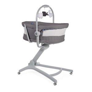chicco Chicco Wieg Baby Hug 4 in 1 Air wieg/kinderstoel Dark Grey