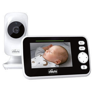 chicco Chicco baby-videomonitor 220 m FHSS Wit
