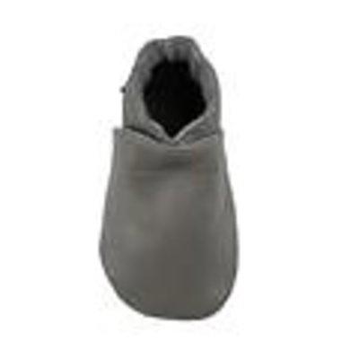 baby dutch babyslofjes effen grijs Maat: S (115 cm)