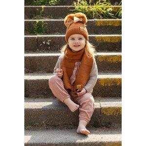 baby dutch Baby Dutch muts en sjaal roest