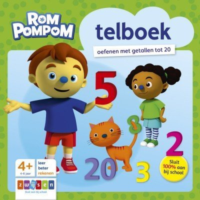 Rompompom Telboek