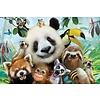 Prime3D 3D Puzzel, Zoo Selfie, 63 stuks