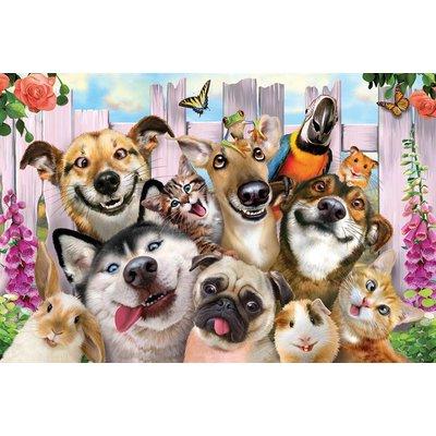 Prime3D 3D Puzzel - Huisdieren Selfie, 63 stuks