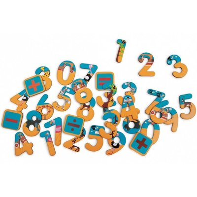 Scratch magneten 123 - safari