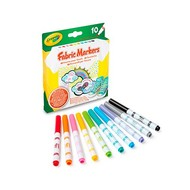 Crayola Textielstiften, 10 stuks