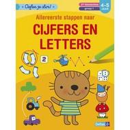 Deltas Oefen je slim! Allereerste stappen naar cijfers en letters ( 4-5 j. )