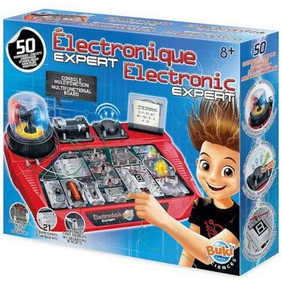 Buki Experimenten elektronica expert, 50 circuits
