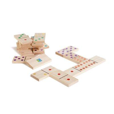 BS Toys (BuitenSpeel) Domino gekleurd, extra groot