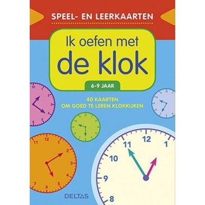 Deltas Speel- en leerkaarten - Ik oefen met de klok (6-9 j.)