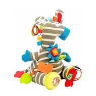 Dolce Zebra activiteitenknuffel