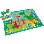 Scratch Puzzel, Dino Wereld, 40 stuks