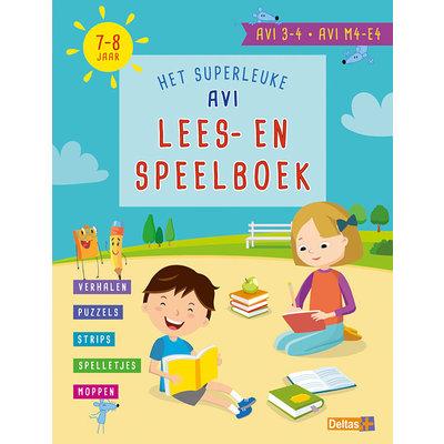 Deltas Het superleuke AVI lees- en speelboek (AVI 3-4 AVI M4-E 7-8 jaar)