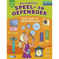 Deltas Mijn dubbeldik speel- en oefenboek (7-9 j.) taal- en rekenoefeningen, met beloningsstickers