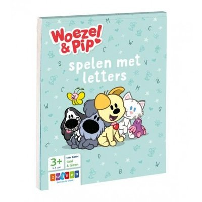 Woezel & Pip  Spelen met letters