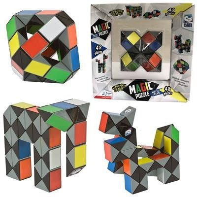 Clown Games Magic Puzzel 3D - Multi Color 48-delen