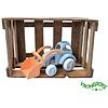 Viking Toys Tractor met voorlader - groot (ecoline)