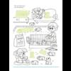 Deltas Stickers plakken, kleuren en lezen - dieren in huis en tuin