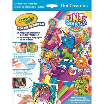 Crayola Color wonder - Box set, Eenhoorns