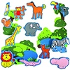 Edushape Badspeelgoed - Magic creations - Jungle fun
