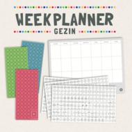 Gezinnig Weekplanner voor het gezin