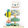 Janod Houten speelgoed - Pure - Stapelfiguur Beer