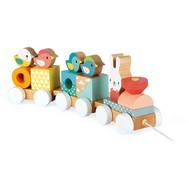 Janod Houten speelgoed - Pure - Trein