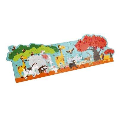 Scratch Vloerpuzzel - safari