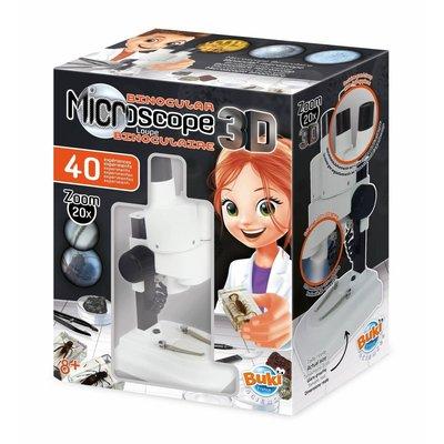 Buki Experimenten Microscoop stereo met 40 experimenten