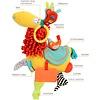 Dolce  Lama - activiteitenknuffel