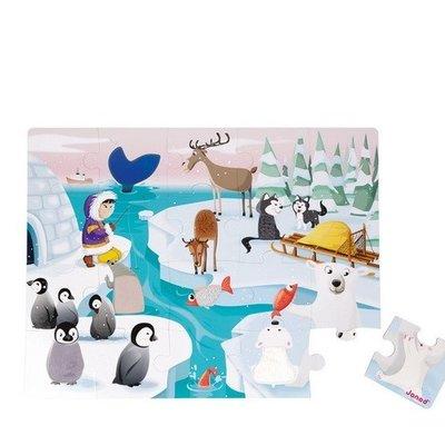 Janod Voelpuzzel - het leven op de ijsschots