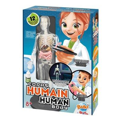 Buki Experimenten - menselijk lichaam