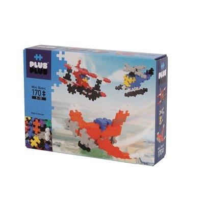 Plus-Plus Mini Basic - Vliegmachines - 170 stuks