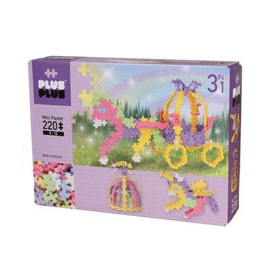 Plus-Plus Mini Pastel  3 in 1 - 220 stuks