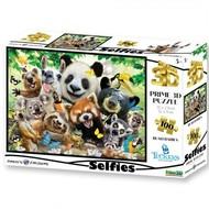 Prime3D 3D puzzel - Llama drama Selfie, 500 stuks