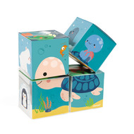 Janod Badspeelgoed - 4 bad kubussen