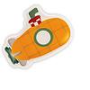 Janod Badspeelgoed - Badboekje, mijn Duikboot