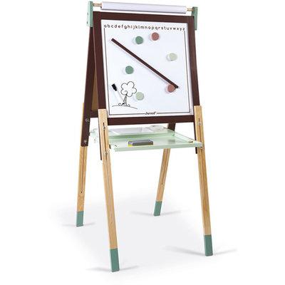 Janod Schoolbord - bordeaux/mintgroen