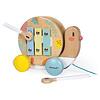 Janod Houten speelgoed - Pure - Trekfiguur Slak