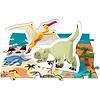 Janod Educatieve Puzzel - Dino's