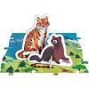 Janod Educatieve Puzzel - bedreigde diersoorten