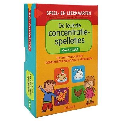 Deltas Speel- en leerkaarten - De leukste concentratiespelletjes ( 5-6 j.)